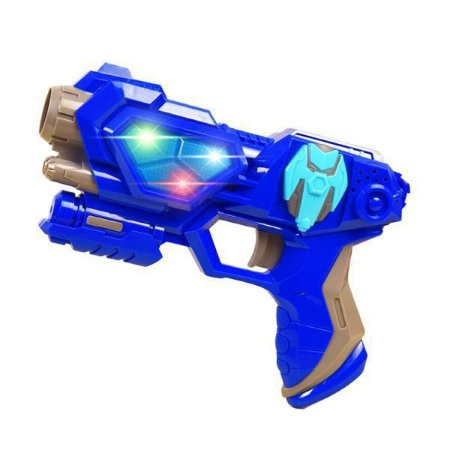 Lançador Espacial Pequeno Azul - Unik Toys