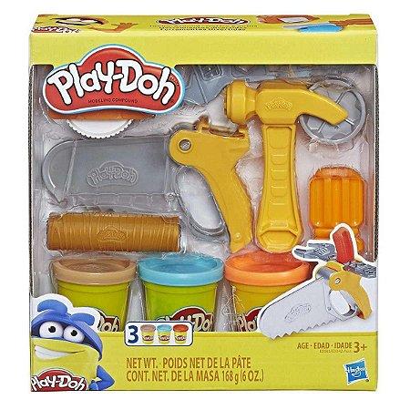 Play Doh Ferramentas De Construçao Hasbro