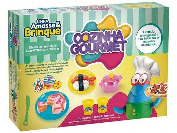 Massinha de Modelar Xplast Amasse Brinque - Cozinha Gourmet