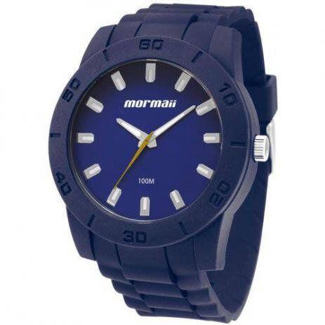 Relógio Masculino Azul Mormaii - MOCRU2035AA/8A