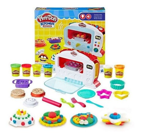 Massinha Play Doh Kitchen Creations Forno Mágico Hasbro