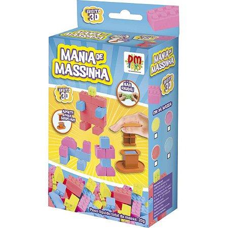Massa para Modelar Criativa Mania de Massinha Pocket BLOCK - Dm Toys