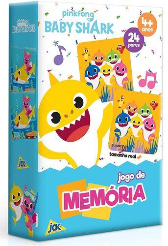 Jogo de memória Baby Shark - Toyster