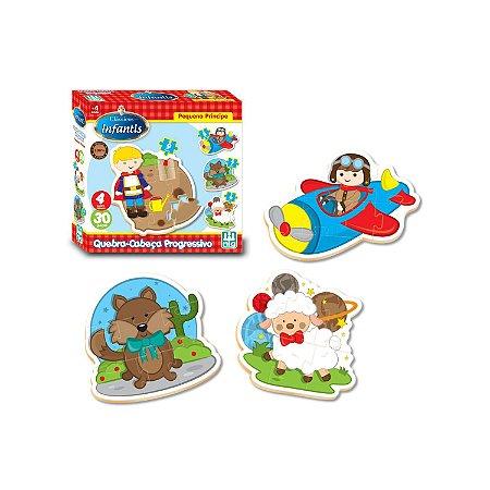 Quebra Cabeça Madeira 30 Peças Pequeno Príncipe Nig - Nig Brinquedos