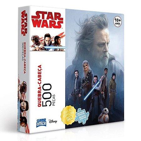 Quebra Cabeça Star Wars Episódio VII 500 Peças - Toyster