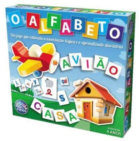 Alfabeto Jogo Educativo Estimula Crianças a Aprender - Pais E Filhos