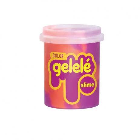 Gelelé Slime Color Roxo e Laranja 152g Doce Brinquedo