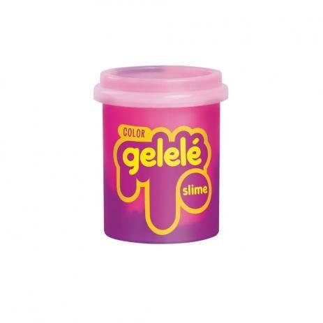 Gelelé Slime Color Rosa e Roxo 152g Doce Brinquedo