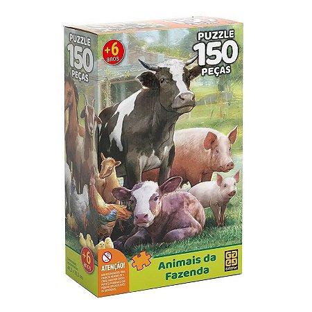 P150 Animais Da Fazenda Grow