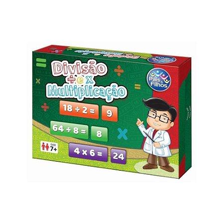 Jogo Divisão E Multiplicação- Pais Filhos
