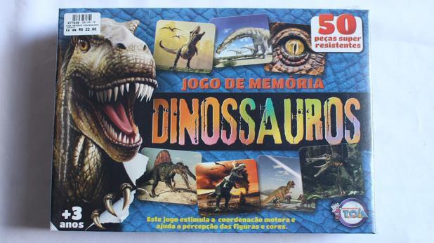 Jogo De Memoria Dos Dinossauros Toia