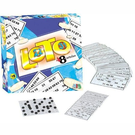 Jogo Loto 48 Cartelas - Nig