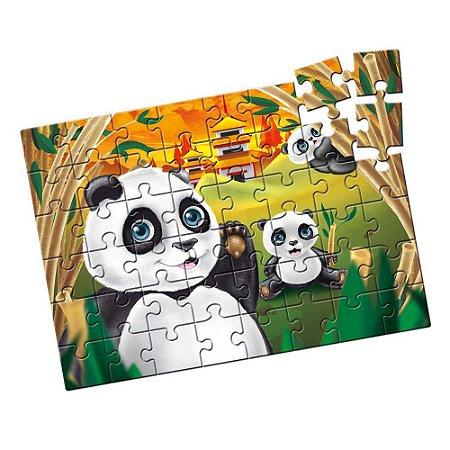 Jogo Quebra-Cabeça Grandão Pandas 48 peças - Estrela