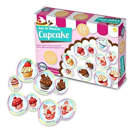 Jogo Memoria Cup Cake 60 Pcs Toia