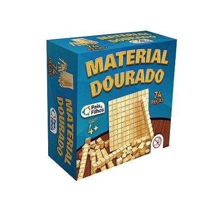 Material Dourado 74 Peças Pais & Filhos