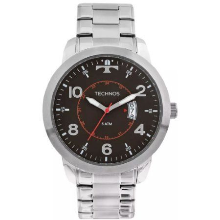 Relógio Technos Masculino Prata – 2115KTM/1P
