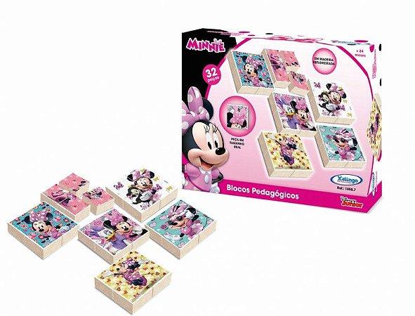 Blocos Pedagógicos Minnie Disney