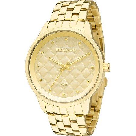 Relógio Technos Feminino Trend Dourado – 2035LWM/4X