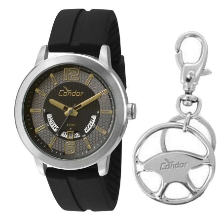 Relógio Condor Masculino Kit Com Chaveiro CO2115UU/K8P