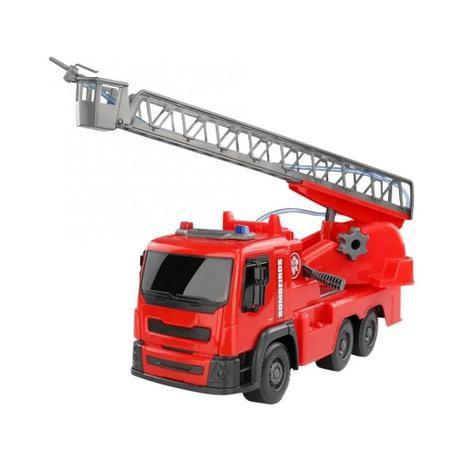 Caminhão Bombeiro Sai Água Roma Jensen Brinquedos