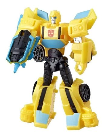 Transformers Cyberverse Sting Shot Scout Class Bumblebee