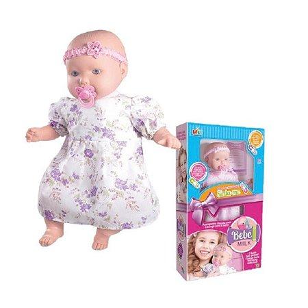 Boneca Bebe Milk 48cm