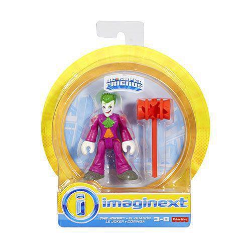 Boneco Coringa - Joker - Imaginext DC Super Friends - Fisher Price - Mattel