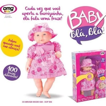 Boneca Baby Bla Bla OMG