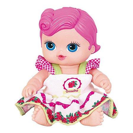 Boneca Frutinha Groselha - Cotiplás