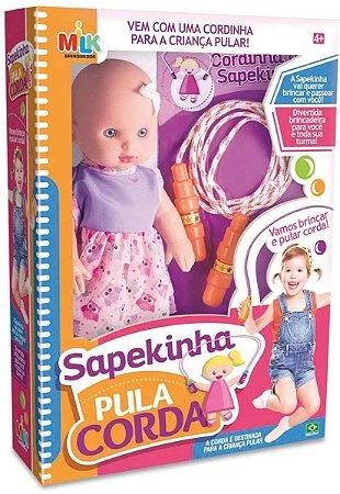Boneca Sapekinha Pula Corda - Milk Brinquedos
