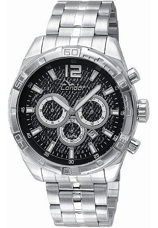 Relógio Condor Masculino Prata Covd33aj/3p