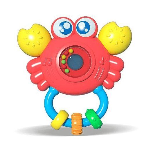 Chocalho Com Som E luz Sirizinho Zoop Toys 6m+