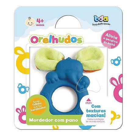 Mordedor com Tecido - Orelhudos Azul - Toyster