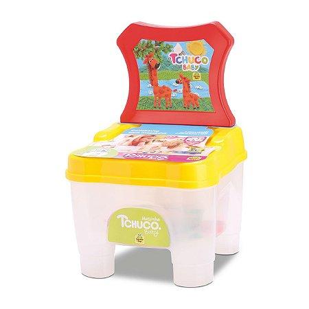 Cadeirinha Com Forminhas E Massinhas De Modelar - Samba Toys