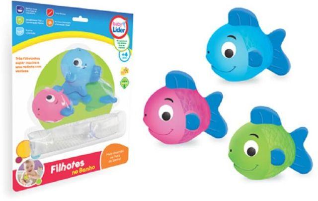 Filhotes No Banho Peixinho - Lider