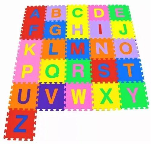 Tapetes Infantil Eva Alfabeto Completo 26 Peças