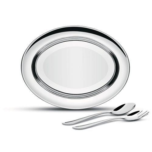 Kit para Salada Tramontina Buena em Aço Inox 3 Peças