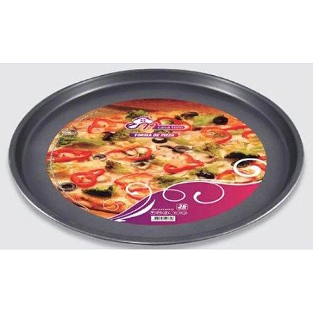 Forma Pizza Antiaderente Assadeira 36cm Inga