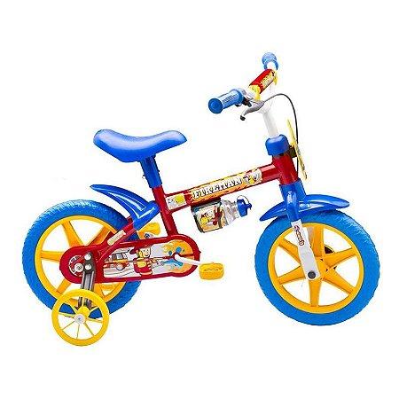 Bicicleta Aro 12 Fireman - Nathor