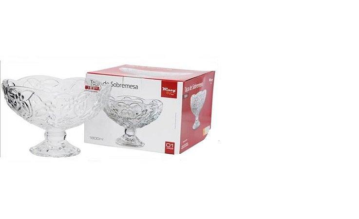 Taça De Vidro Sobremesa 1800ml - Transparente