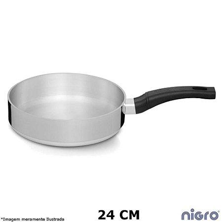 Frigideira Alumínio Polido Eterna - 24cm