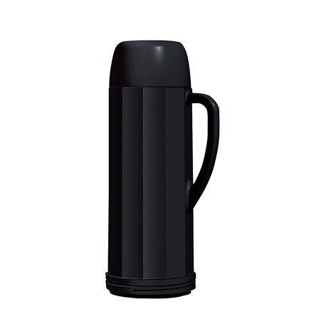 Garrafa Térmica Eureka Preta 1 Litro Invicta