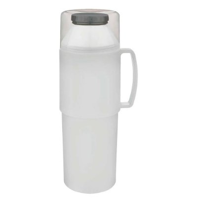 Garrafa Térmica Indie 1 Litro Branca
