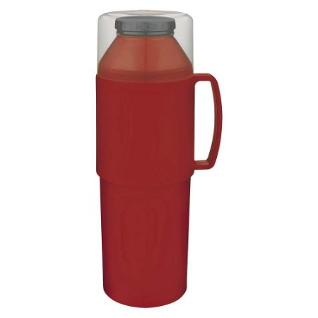 Garrafa Térmica Indie 1 Litro Vermelha