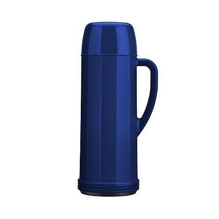 Garrafa Térmica Invicta Eureka Azul 1l