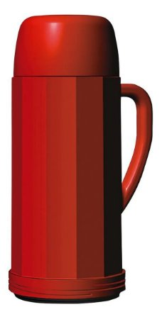 Garrafa térmica Eureka vermelha 0,75 L