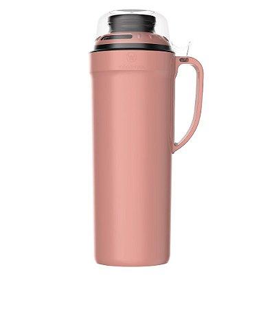 Garrafa Térmica Versatile 1L Rose Rolha Clean