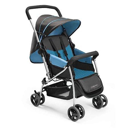 Carrinho De Bebe Berco Flip Azul Multikids Baby