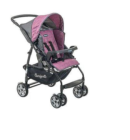 Carrinho de Bebê Burigotto Reversível Rosa