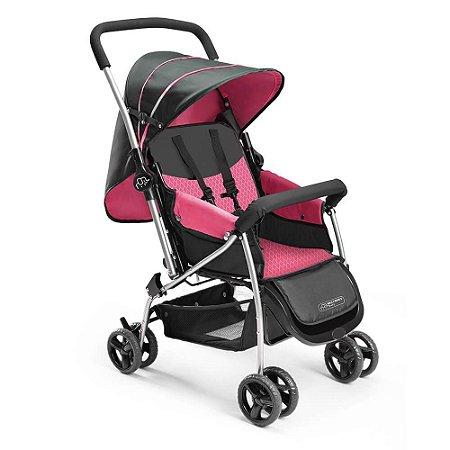 Carrinho De Bebê Berço Flip Rosa Multikids Baby Multikidsbaby